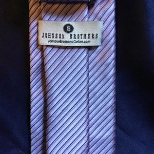 Lavender Striped Tie